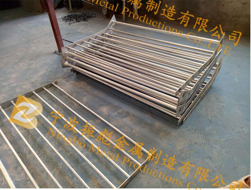 上海河道锌钢护栏案例-4