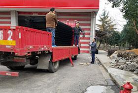 宁波消防局锌钢护栏案例